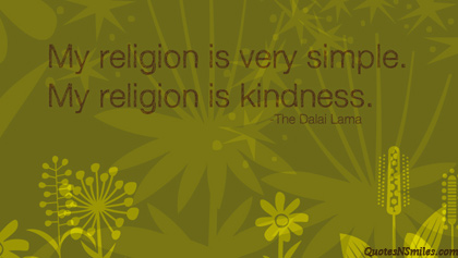 my-religion-is-kindness-yoga-picture-quote